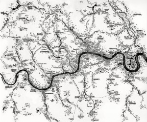 Lost rivers of London small