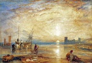 Wales - Castles - Flint Castle by William Turner