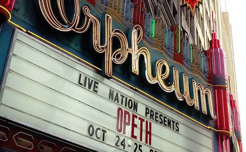 Live Review – Opeth 25th Anniversary Concert – by Shawn Dudley