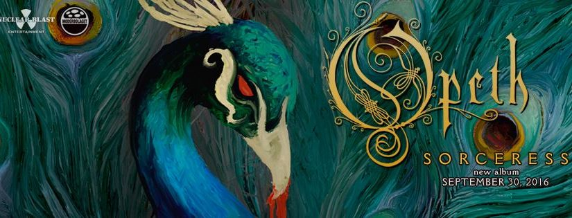 OPETH RELEASE 5TH STUDIO BLOG FOR 'SORCERESS'