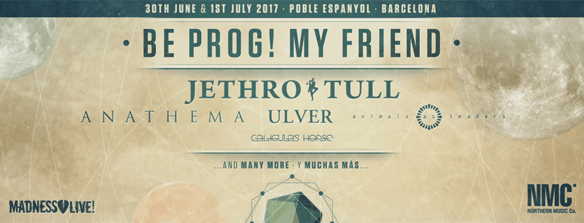 BE PROG! MY FRIEND NOW ADDS ANATHEMA, ANIMALS AS LEADERS AND CALIGULA'S HORSE.