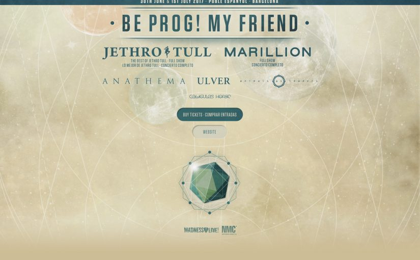 Be Prog! My Friend festival announce Friday headliners Marillion