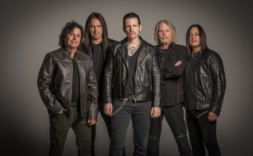 "BLACK STAR RIDERS release ""When The Night Comes In"" lyric video"
