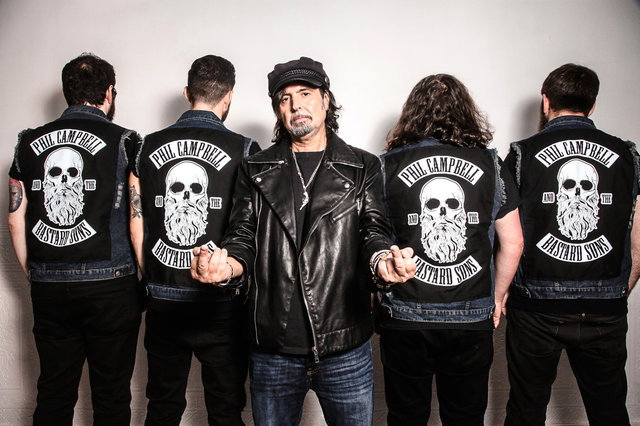 Phil Campbell and the Bastard Sons Sign With Nuclear Blast and Release Exclusive Live E.P. Today