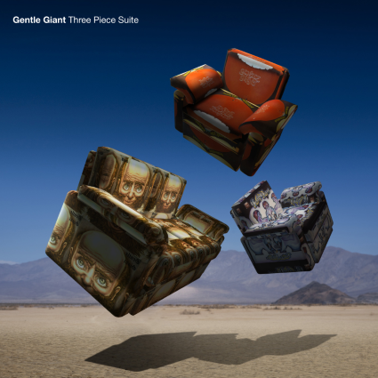 Gentle Giant's album 'Three Piece Suite (The Stephen Wilson Mix) to be released 29th September 2017