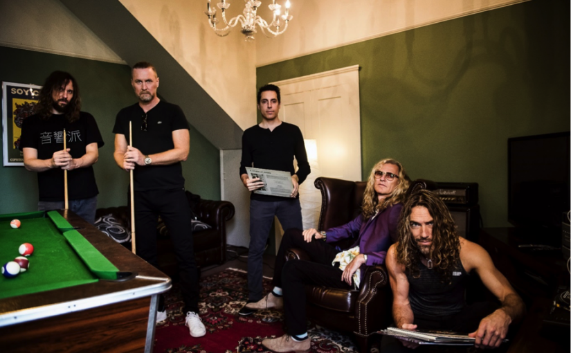 The Sea Within – Roine Stolt, Daniel Gildenlöw, Jonas Reingold, Tom Brislin & Marco Minnemann – announce self-titled debut album