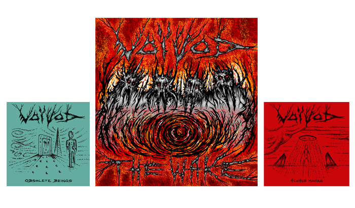 VOIVOD – The Wake album pre-order started