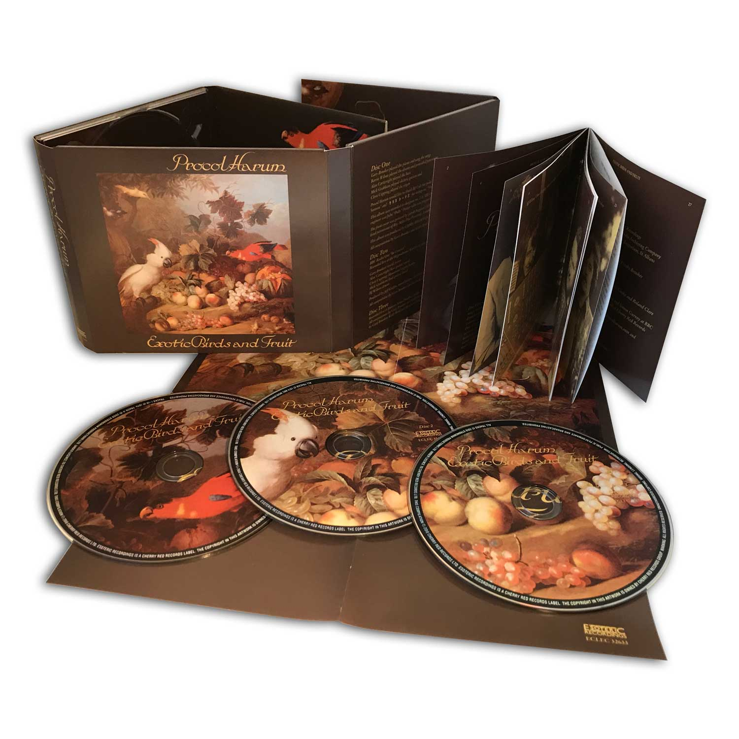 Reviews Procol Harum Reissues Grand Hotel Exotic Birds And