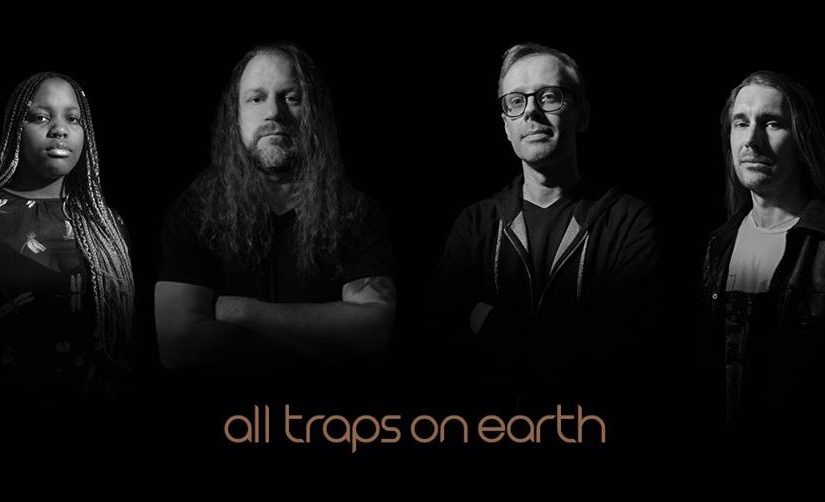 "AMS Records Announce Release of ALL TRAPS ON EARTH's debut record ""A Drop of Light""."