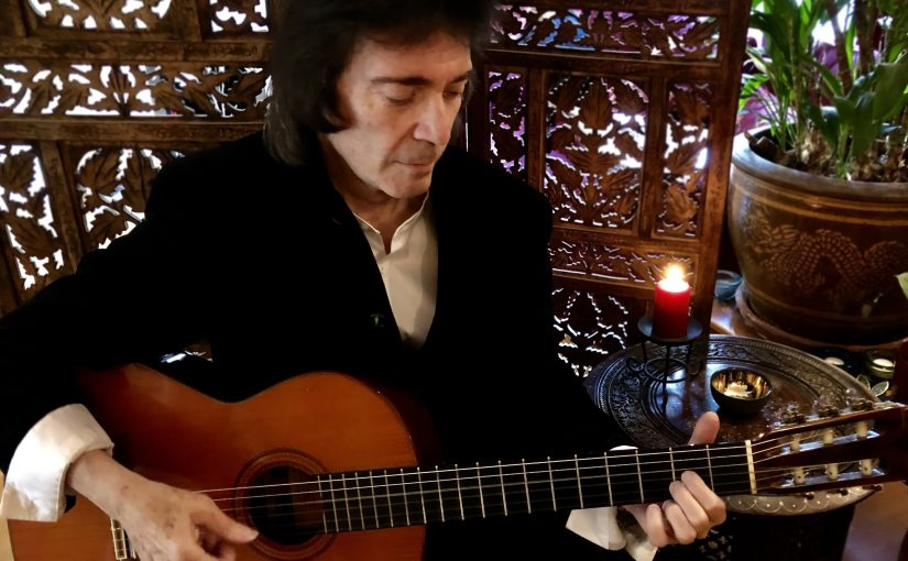 Steve Hackett announces the release of a new acoustic album – Under A Mediterranean Sky on 22nd January.